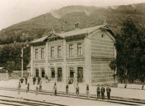 Ehemaliger Bahnhof Bergstadt Lautenthal
