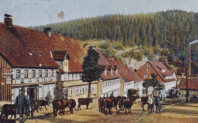 Der Marktplatz um 1800