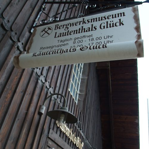Bergbaumuseum Lautenthals Glück, Eingang